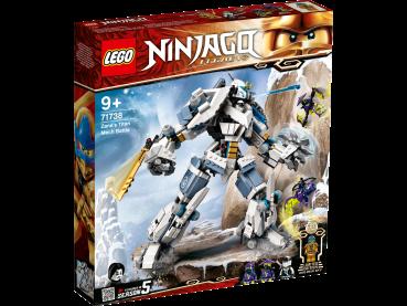 LEGO® NINJAGO® Zanes Titan-Mech