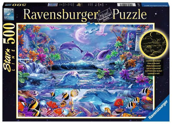 Ravensburger Puzzle - Im Zauber des Mondlichts - 500 Teile - Kopie