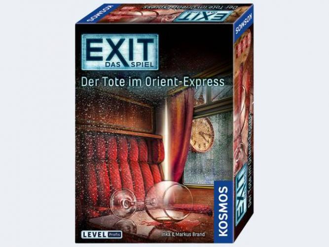 EXIT-Das Spiel Der Tote im Orient-Express